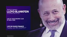 Goldman Sachs' Lloyd Blankfein at the Economic Club of New York