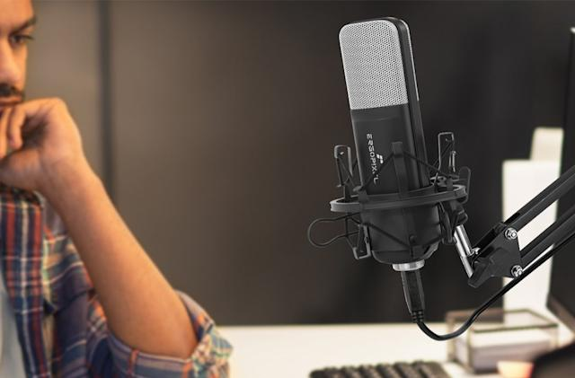 These discounted mics are great for WFH and audio production