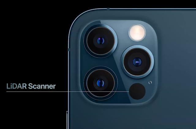 The iPhone 12 Pro will come equipped with a LiDAR scanner