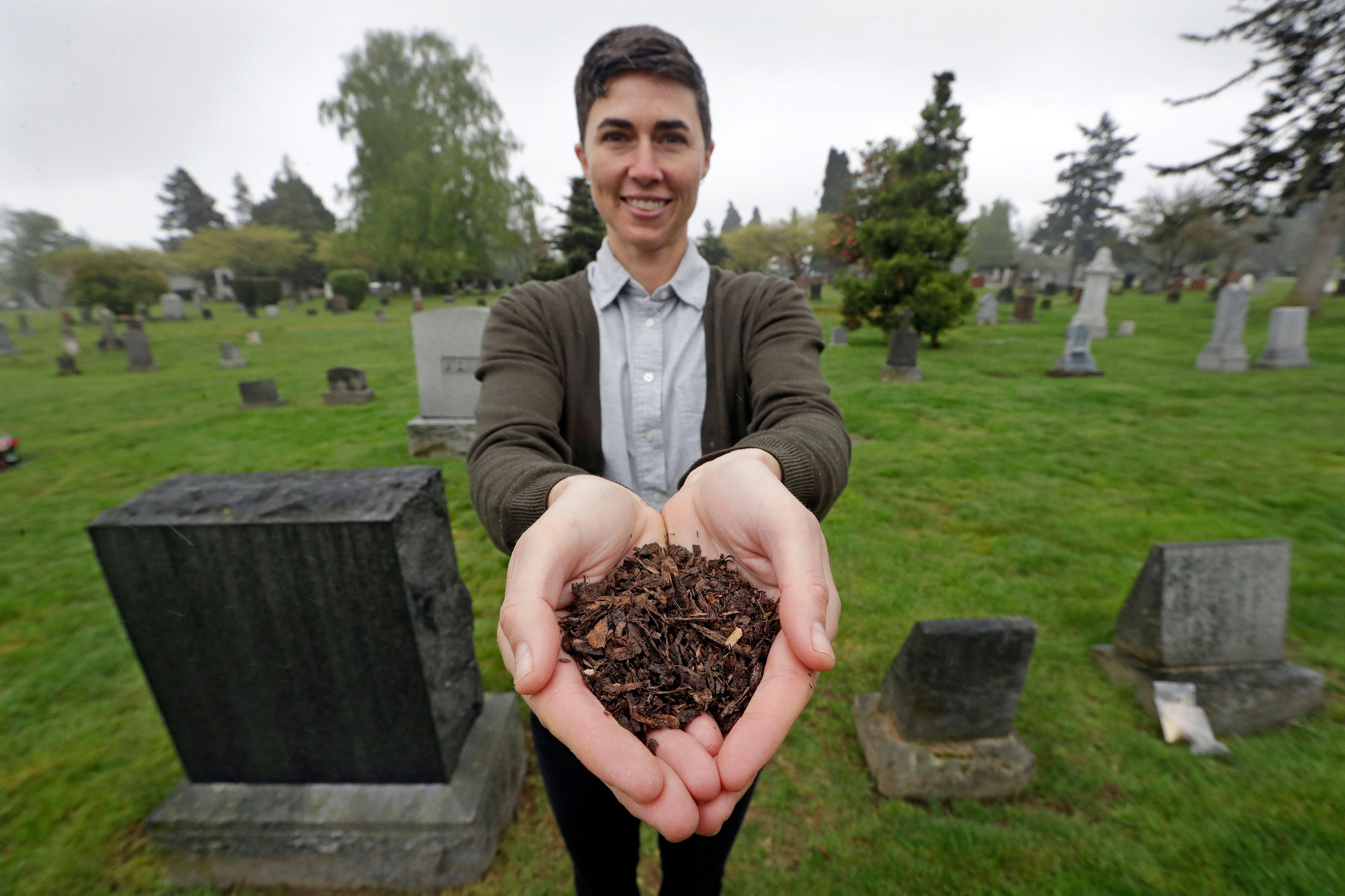 Turning loved ones into soil? Washington becomes first state to allow human composting
