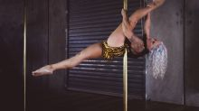 This mother-son duo share an unlikely hobby: pole dancing