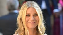 Gwyneth Paltrow Works Out In a Sports Bra, Leggings and the Chunkiest Sneakers