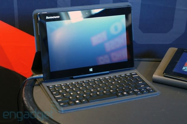 Lenovo Miix is a watered-down ThinkPad Tablet 2, starts at $500 (hands-on)