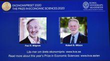 Le prix Nobel d'économie est décerné aux Américains Paul Milgrom et Robert Wilson, spécialistes de la théorie des enchères