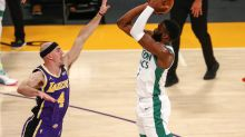 Jaylen Brown scores 40, Celtics beat Lakers 121-113