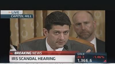 Paul Ryan Confronts IRS Official on Targeting