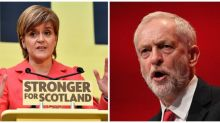 Nicola Sturgeon says SNP will prop up Labour government if Jeremy Corbyn edges into power