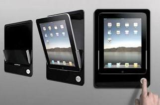 iRoom iDock imounts your iPad to your iwall