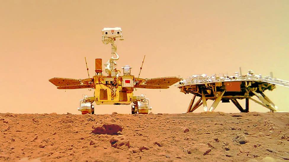 China's Zhurong Mars rover takes a selfie – Yahoo News Australia