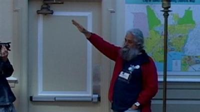 Nazi Salute At Santa Cruz City Council Meeting