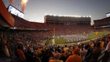 Where does The Swamp rank among the top-10 college football venues for fan atmosphere?