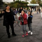 Workers at Israel's Teva Pharm block roads, continue protest over job cuts