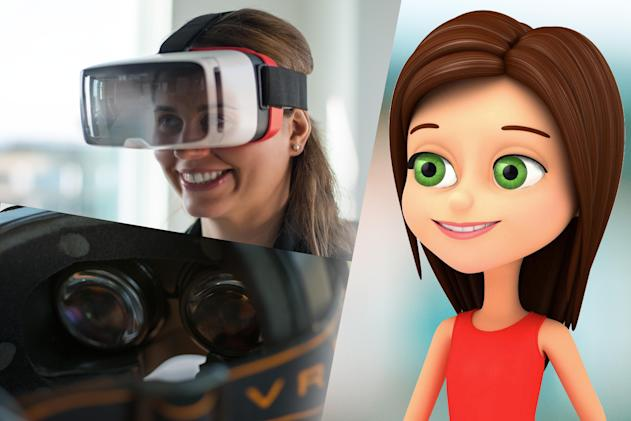 'Face-sensing' headsets show your real-life expressions in VR