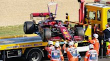 Abgeschleppt! Vettels Auto streikt schon wieder