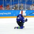 Olympics-Slovenia ice hockey player Jeglic fails doping test, to leave Games: CAS