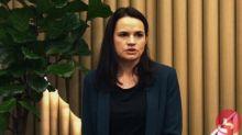 """Biélorussie : """"On est prêts à parler à tout le monde"""", a assuré l'opposante au régime, Svetlana Tikhanovskaïa"""