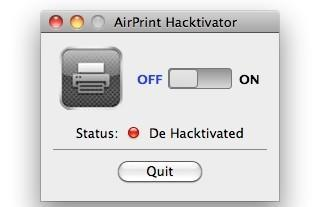 AirPrint Hacktivator enables AirPrint for any printer