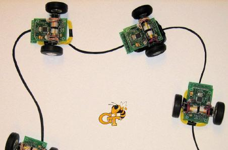 Researchers create wirelessly-powered robot swarm