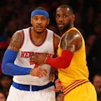 Report: Even after Kyrie Irving requests trade, Carmelo Anthony still focused on Rockets, not Cavaliers