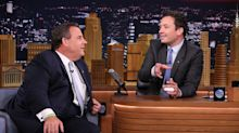 Chris Christie and Jimmy Fallon Talk Ice Cream and Depress America