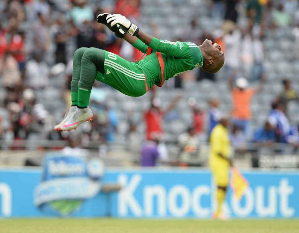 Keeper Mpontshane not resting at Orlando Pirates