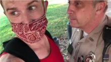 Trooper arrested after video shows him ripping off protester's mask in Tennessee