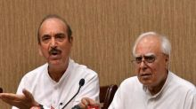 Congress at Historic Low, Will be in Opposition for 50 Years: Kapil Sibal, Azad Double Down on 'Dissent'