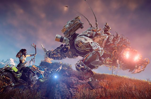Sony is giving away 'Horizon Zero Dawn' and nine other great games
