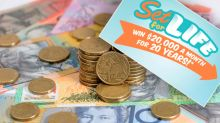 Retired Queensland couple wins $20k a month for 20 years