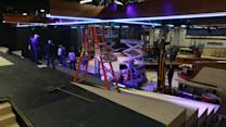 Timelapse: Late Late Show Set Build