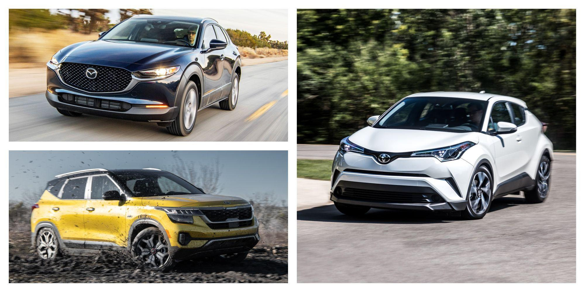 """<p>The popularity of crossovers and SUVs isn't slowing down, as evidenced by the vehicle types popping up in every size and at every price point. Need something tall and small? A subcompact crossover might just be what you're looking for. These are the least-expensive crossovers you can buy, situated below <a href=""""https://www.caranddriver.com/features/g15380025/best-small-compact-suv-truck/"""" rel=""""nofollow noopener"""" target=""""_blank"""" data-ylk=""""slk:compact crossovers"""" class=""""link rapid-noclick-resp"""">compact crossovers</a>, and they are all based on everyday small car platforms. Some don't even offer all-wheel drive, and many don't offer much interior or cargo room. But they do have the look, with rugged-adjacent body cladding, plus that must-have tall seating position. To get a baseline on the current offerings, we've ordered the segment by goodness, starting with the worst and ending with the best.</p>"""