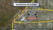Steering You Right: Closures On Sawgrass & Dolphin Expressways