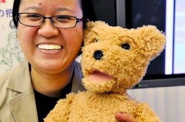 Fujitsu's robot bear designed to win over the elderly, but we're on to it
