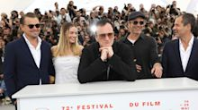 Quentin Tarantino's seven-minute ovation at Cannes looked incredibly awkward