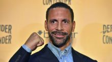 Ferdinand turns to boxing to fight grief