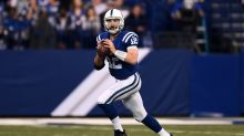 Colts quarterback Luck still coming back from injury