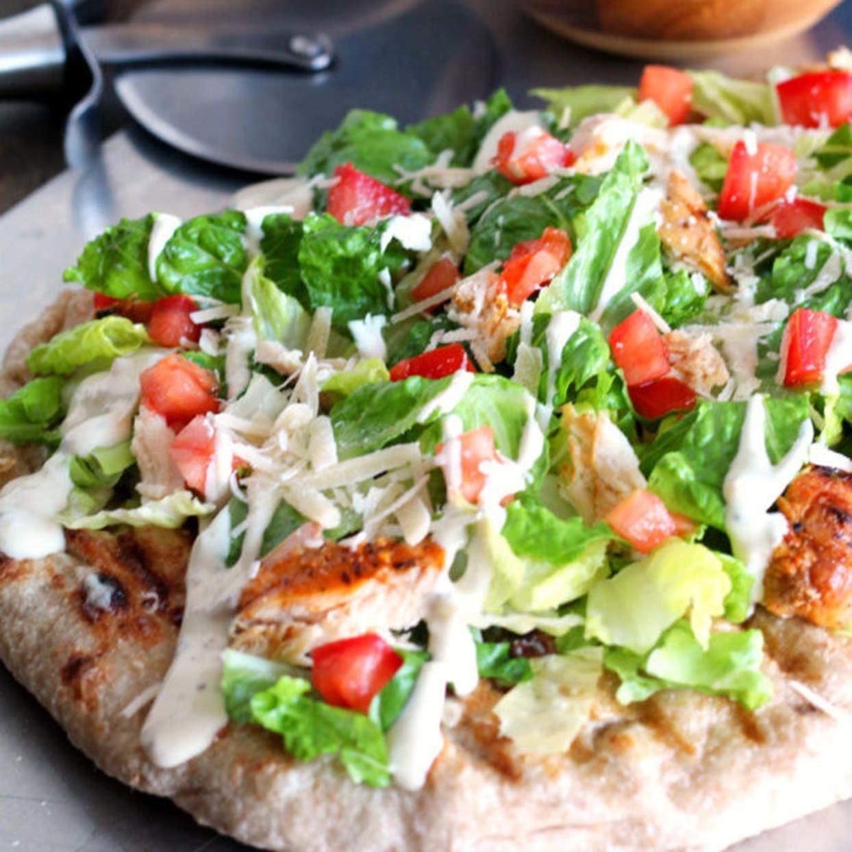 Salad Pizza Recipes Are the Latest (and Prettiest) Healthy