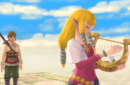 The Legend of Zelda: Skyward Sword has fully orchestrated soundtrack