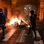 Protesters in cities across Italy clash with police over anti-Covid measures