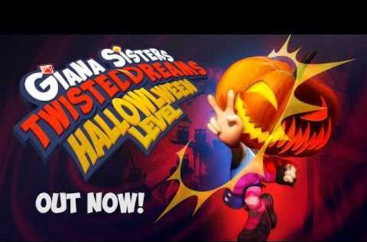 Giana Sisters: Twisted Dreams updates with new Halloween level