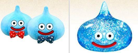 Dragon Quest 25th anniversary merch features plushie slimes, business card cases