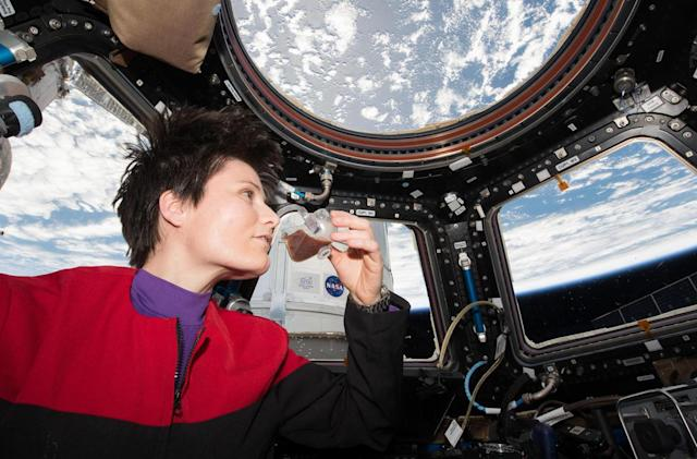 NASA's Space Cups help astronauts drink like they do on Earth