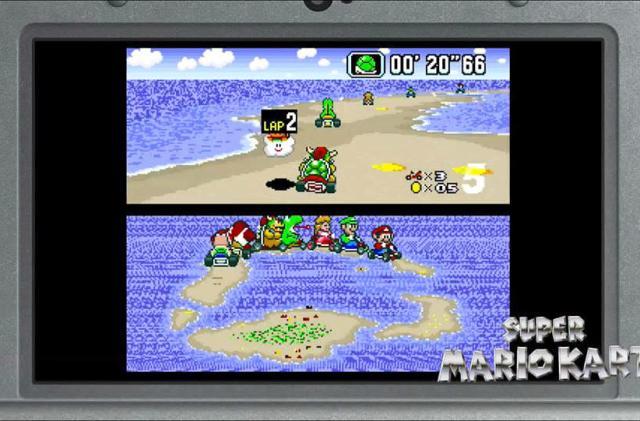 Nintendo makes SNES games exclusive to 'New' Nintendo 3DS