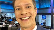 Ex-Globo News, Sergio Aguiar estreia em jornal da Record