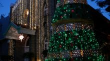 Photos: Year's most amazing Christmas tree decorations ahead of holidays