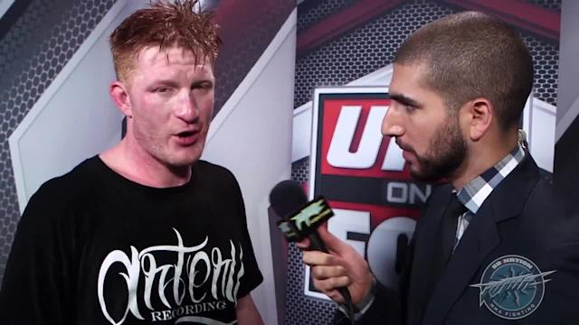 Ed Herman was rocked and 'banged up' in his UFC on FOX 8 battle with Trevor Smith