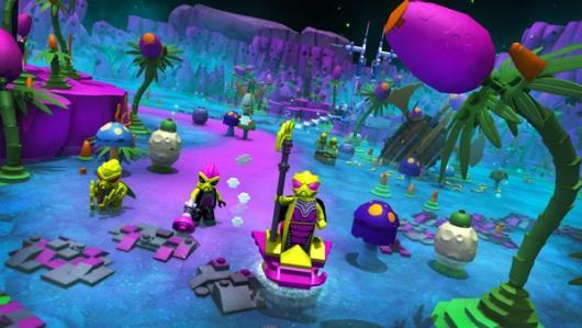 LEGO Minifigures Online shows off the Space World