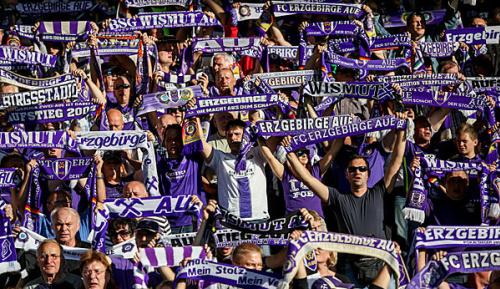 2. Liga: Sieg gegen 1860: Aue verlässt die Abstiegsränge