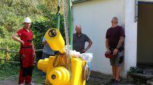 Sanierung : Steglitzer Sternwarte: Spiegelteleskop wird repariert