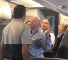 Man who defended crying mother on American Airlines flight speaks out